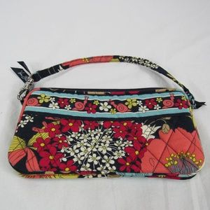 Vera Bradley Happy Snails Wristlet Small Purse